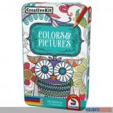 "Kreativ-Set ""CreativKit-Colors & Pictures"" - in Metallbox"