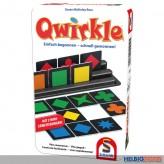 """Gesellschaftsspiel """"Qwirkle"""" - in Metallbox"""