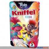 """Kinder-Spiel """"Kniffel Kids - Trolls World Tour"""" in Metallbox"""