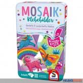 """Kreativ-Set """"Mosaik Klebebilder"""" - in Metallbox"""