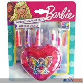 "Barbie - Make up Set/Schminkset ""Herz mit Spiegel"""