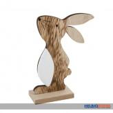Deko-Holz-Hase - 11 cm