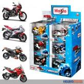 """Metall-Motorräder """"Fresh Metal - 2 Wheelers"""" - sort."""