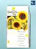 """Glückwunschkarte """"65. Geburtstag"""" - 10er Sortiment"""