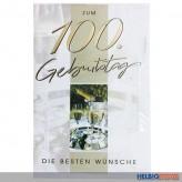 """Glückwunschkarte """"100. Geburtstag"""" - 5er Sortiment"""