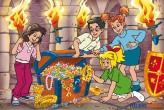 """Kinder-Puzzle - Bibi Blocksberg """"Die Schatztruhe"""" 100 Teile"""