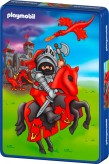 "Puzzle ""Playmobil-Ritter"" 40-tlg. - in Metallbox"