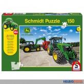 "Kinder-Puzzle ""John Deere Traktor 5M Serie"" m. Modell 150 T."
