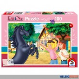 "Kinder-Puzzle ""Bibi & Tina - Der wilde Hengst"" 100 Teile"