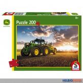 "Kinder-Puzzle ""John Deere Traktor 6150R Feldspritze"" 200 T."