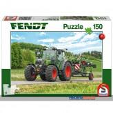 "Kinder-Puzzle ""Fendt Traktor 211 Vario mit Wender"" 150-tlg"