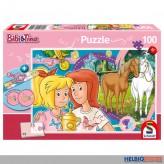 "Kinder-Puzzle ""Bibi & Tina-Pferdeglück"" inkl. Band 100 Teile"