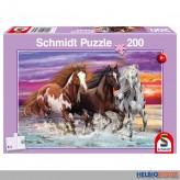 "Kinder-Puzzle ""Wild-Pferde-Trio"" 200 Teile"