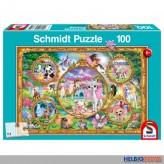 "Kinder-Puzzle ""Animal Club: Einhorn-Welt"" 100 Teile"