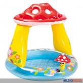 """Baby-Pool / Baby-Planschbecken """"Pilz"""" - 102 x 89 cm"""