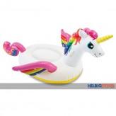 """Badetier Riesen-Einhorn """"Rainbow Unicorn Ride-On"""" - 201 cm"""