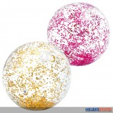 "Wasserball/Beachball ""Glitter Beach Ball"" 71 cm - 2-sort."