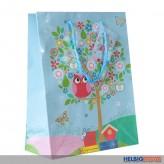 "Geschenktüte ""Eule im Baum"" kl."