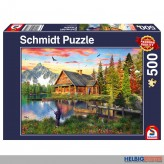 "Puzzle ""Angeln am See"" - 500 Teile"