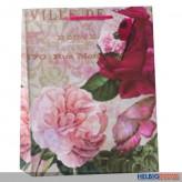 "Geschenktüte ""Rose - Schmetterling"" - gr."