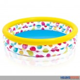 "3 Ring-Bade-Pool / Planschbecken ""Color Dots"" 147 cm"