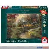 "Puzzle ""Thomas Kinkade: Friedliche Abendstimmung"" 1000 Teile"