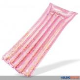 """Luftmatratze """"Glitter - Pink & Gold"""" 170 cm"""