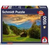 "Puzzle ""Sonnenuntergang - Sunset"" 1500 Teile"