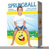 "Sprungball ""Boy & Girl Smiley"" 50 cm - 2-sort."