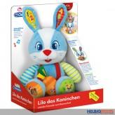 "Edukatives Baby-Plüschtier ""Kaninchen Lilo"" interaktiv"