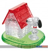 "3D Crystal Puzzle ""Peanuts: Snoopy Haus / Snoopy House"""