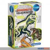 """Galileo Ausgrabungs-Set """"Velociraptor"""" leuchtet im Dunkeln"""