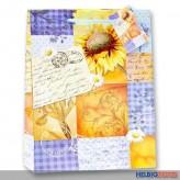 "Geschenktüte ""Sonnenblumen-Mosaik"" - kl."