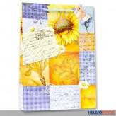 "Geschenktüte ""Sonnenblumen-Mosaik"" - gr."