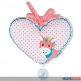 """Baby-Spieluhr """"Herz gepunktet m. Pferd Peggy"""""""
