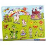 """Maxi-Holz-Einlegepuzzle """"Prinzessin & Ritter"""" 20 tlg."""