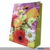"Geschenktüte ""Bunte Blumen"" - kl."