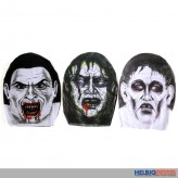 """Strumpf-Maske """"Halloweengesichter"""" - 3-sort."""
