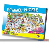 "Wimmelwelt-Puzzle ""Schwimmbad"" - 100 Teile"