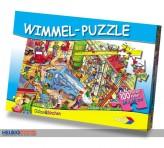 "Wimmelwelt-Puzzle ""Baustelle"" - 100 Teile"