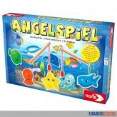 "Kinderspiel-Klassiker ""Angelspiel"" m. 2 Holz-Angeln"