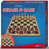 """Gesellschaftsspiel """"Schach & Dame - 2in1 Deluxe"""""""