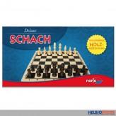 """Gesellschaftsspiel """"Schach Deluxe"""" Holzausführung"""