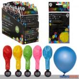 LED-Luftballons - farbig sortiert