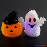 """LED-Zottelfiguren """"Halloween"""" - 2-sort."""