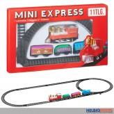 "Mini-Eisenbahn-Set elektr. ""Mini Express"" 11-tlg."
