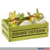 "Dekorations-Set ""Frohe Ostern"" - 15-tlg."
