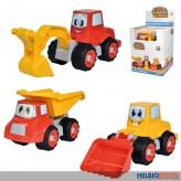 "Sand-Baufahrzeuge ""Happy Trucks"" - 3-sort."