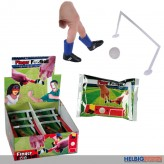 Finger-Fussball Set - sort.