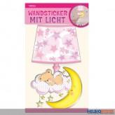 """Wandsticker mit Licht """"Baby Girl"""""""